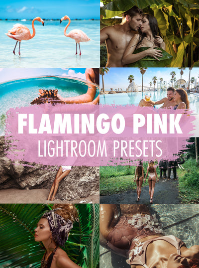 10 Flamingo Pink Lightroom Presets - Mobile & Desktop