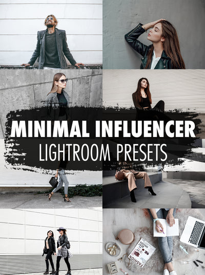 10 Minimal Influencer Lightroom Presets  - Mobile & Desktop