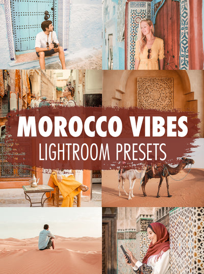 10 Morocco Vibes Lightroom Presets - Mobile & Desktop