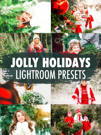 10 Jolly Holidays Lightroom Presets - Mobile & Desktop