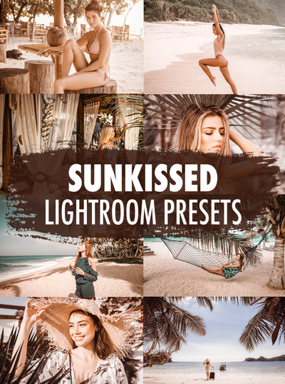 10 Sunkissed Lightroom Presets - Mobile & Desktop