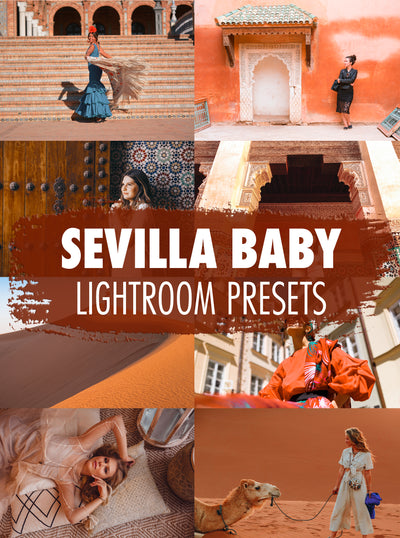 10 Sevilla Baby Lightroom Presets - Mobile & Desktop