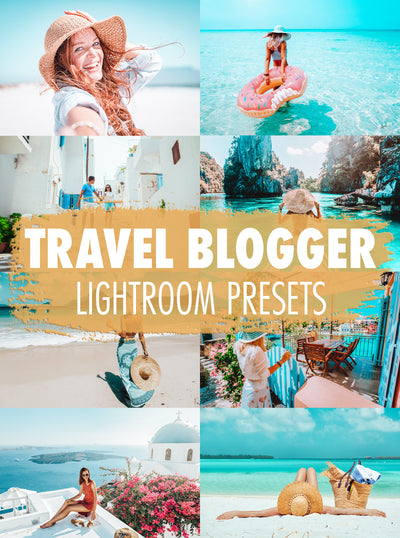 10 Travel Blogger Lightroom Presets - Mobile & Desktop