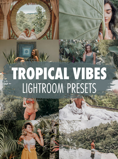 10 Tropical Vibes Lightroom Presets - Mobile & Desktop