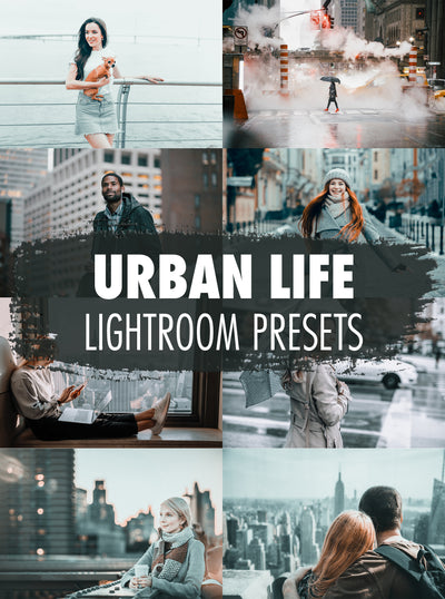 10 Urban Life Lightroom Presets - Mobile & Desktop