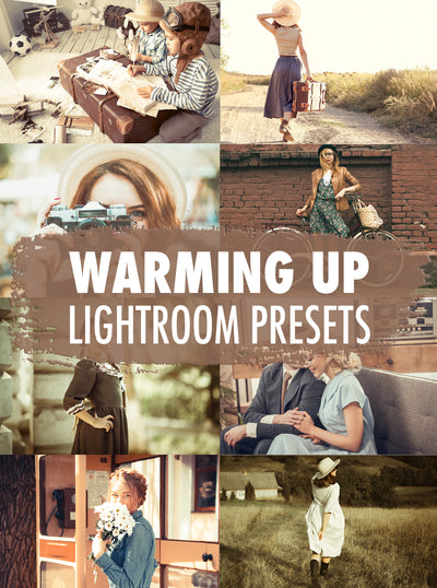10 Warming Up Lightroom Presets - Mobile & Desktop