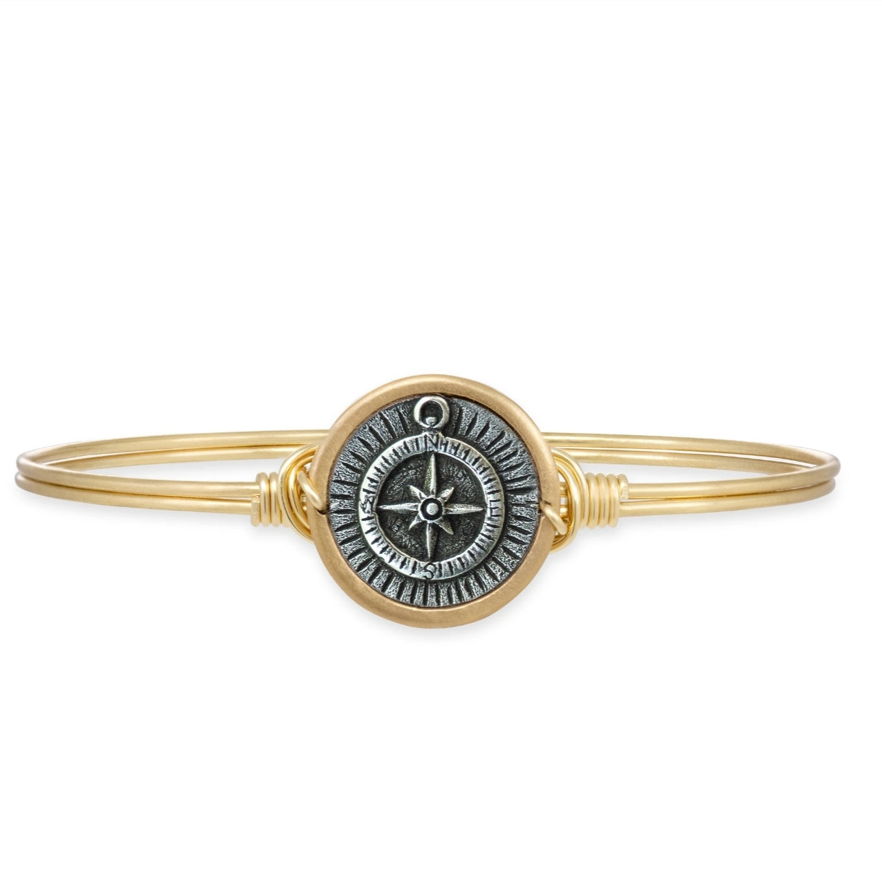 Compass Bangle Bracelet Reg