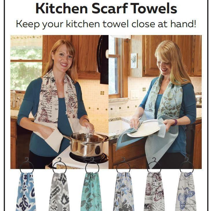Kitchen Towel Scarf