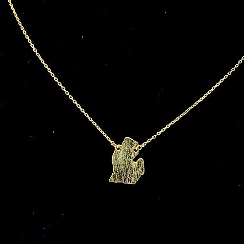 Michigan Mitten Must Have Necklace