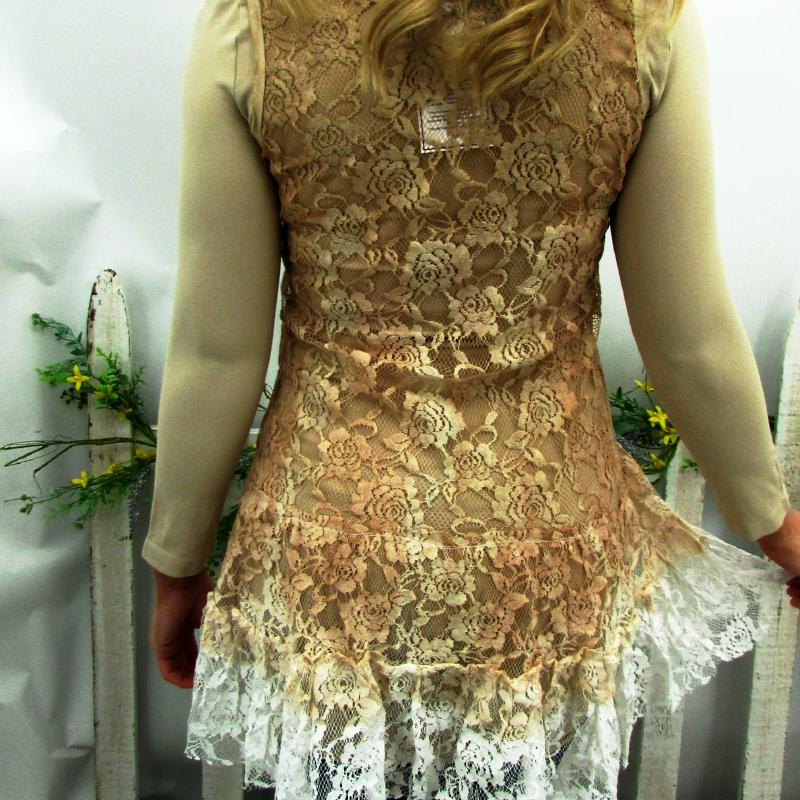 Ombre Lace Tunic