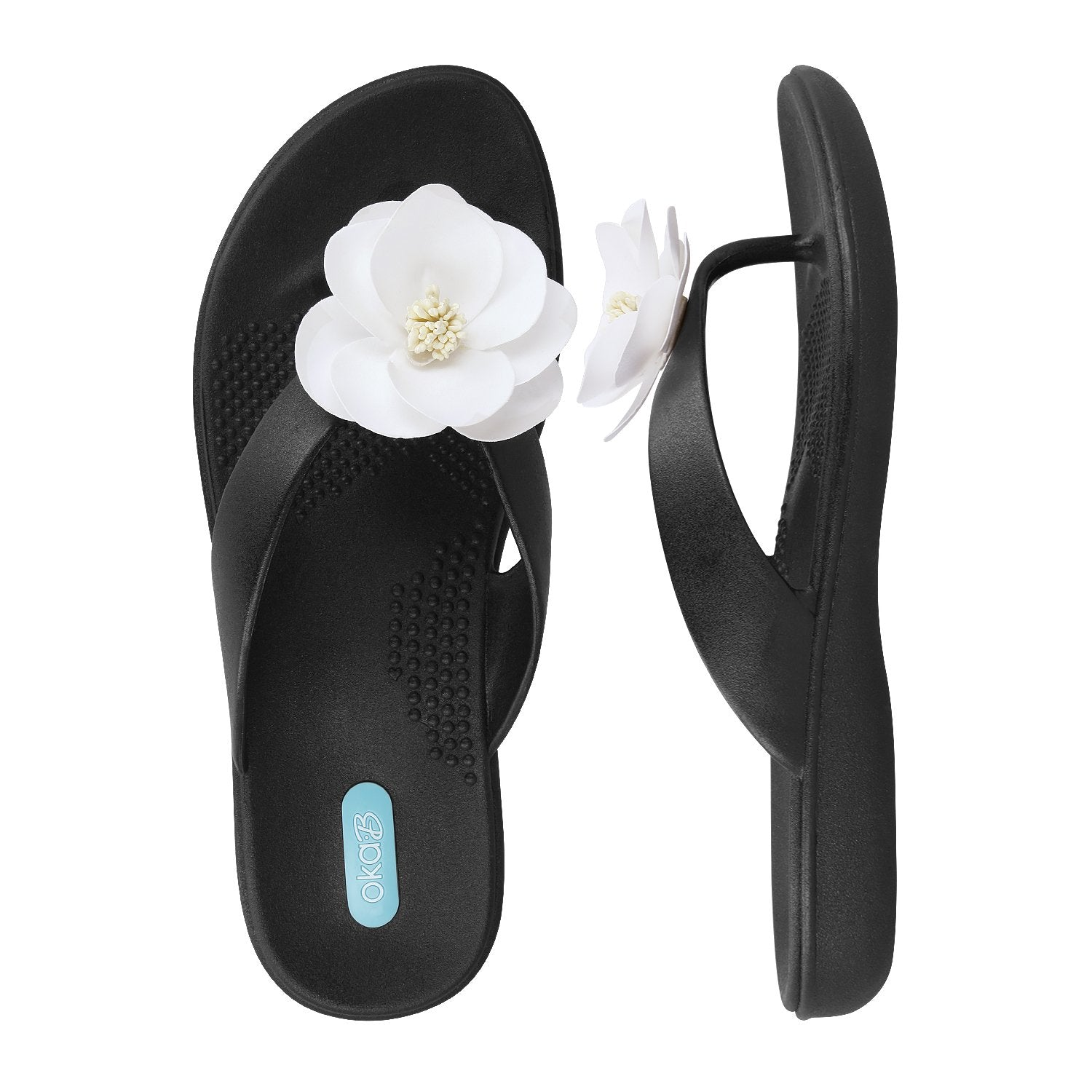Maribella Licorice Oka-B Flip Flop