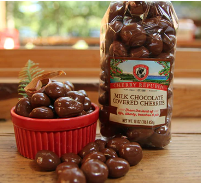 Milk Chocolate Covered Cherries 8oz