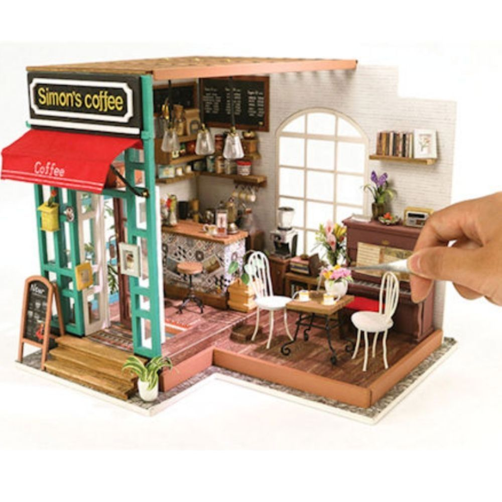 DIY 3D Wooden Puzzle Miniature House