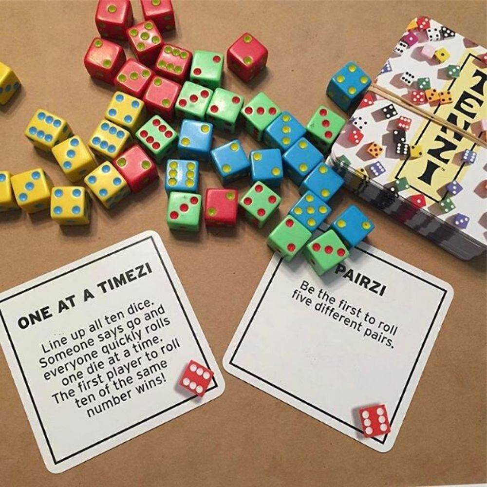 77 ways to play Tenzi Cards