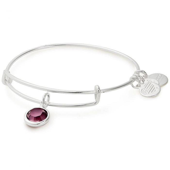February Birthstone Bangle