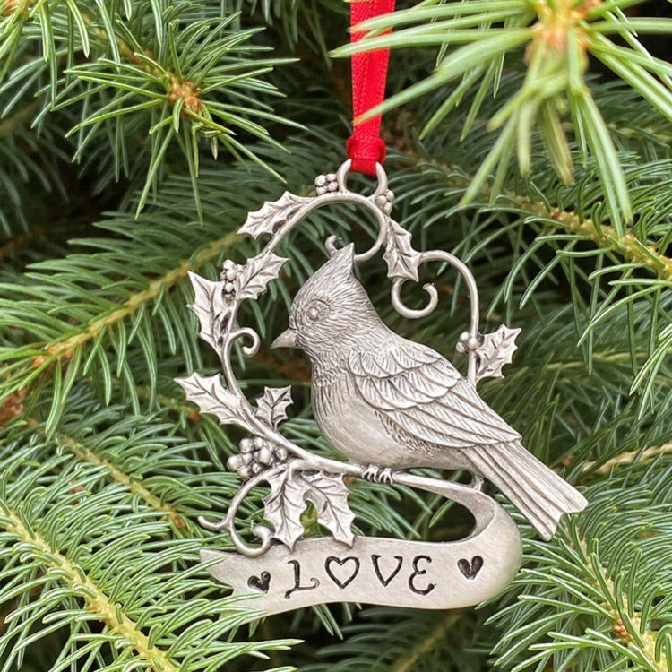 Cardinal Love Giving Ornament