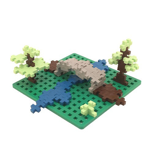Plus Plus Baseplate Duo - Green