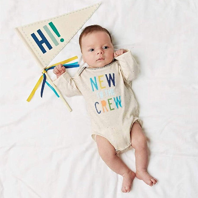 New To The Crew Boy Set 0-6 months