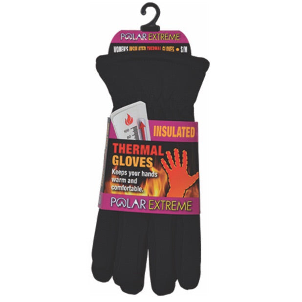 Polar Extreme Insulated Unisex Lined Ski Gloves