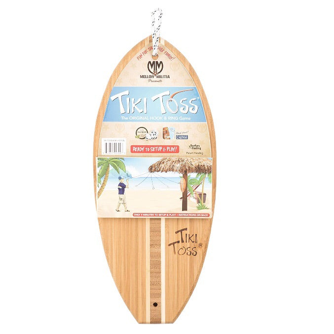 Tiki Toss Surf Edition Hook & Ring Game