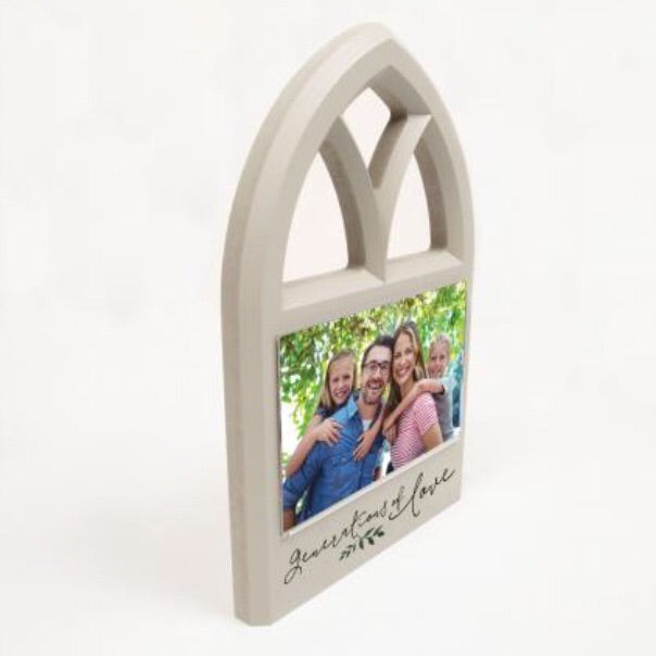 Generations of Love Window Photo Frame