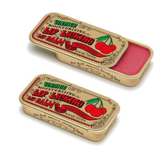 Vintage Lip Licking Lip Balm