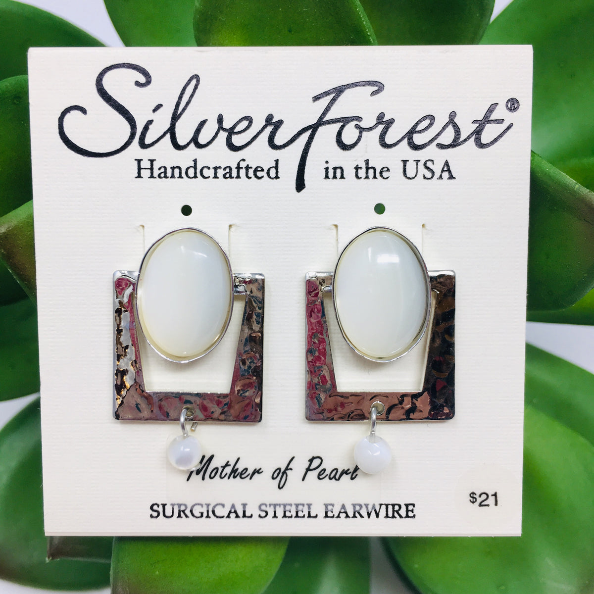 Silver Forest Earrings Page 3