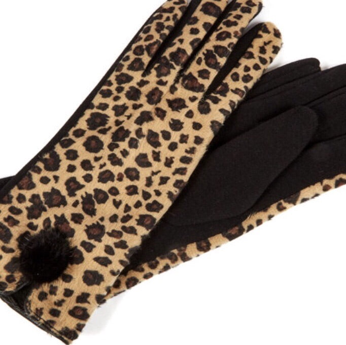 Fleece Lined Fashion Gloves