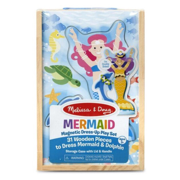Mermaid Magnetic Dress-Up Play Set