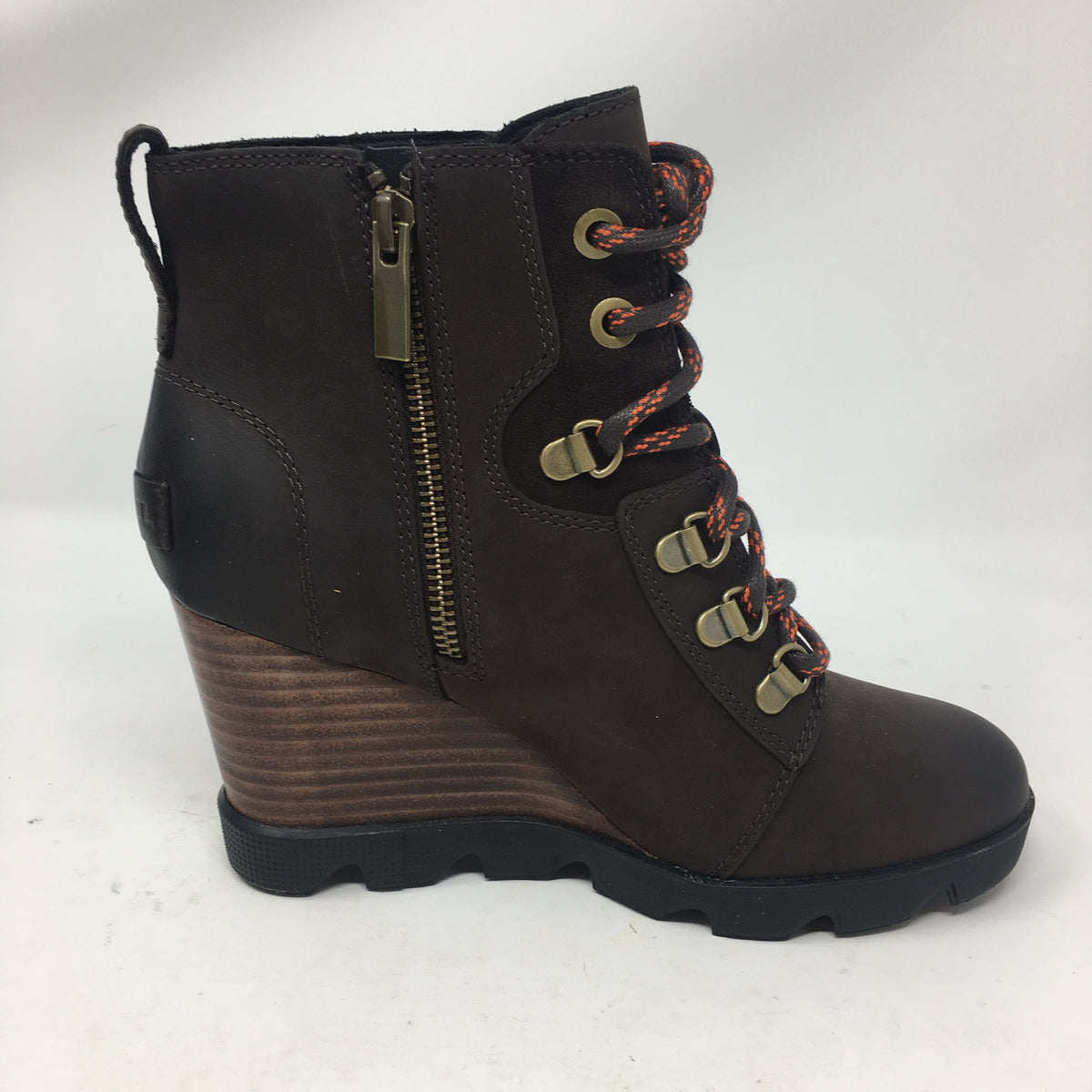 Sorel Joan Uptown Lace Blackened Brown Bootie