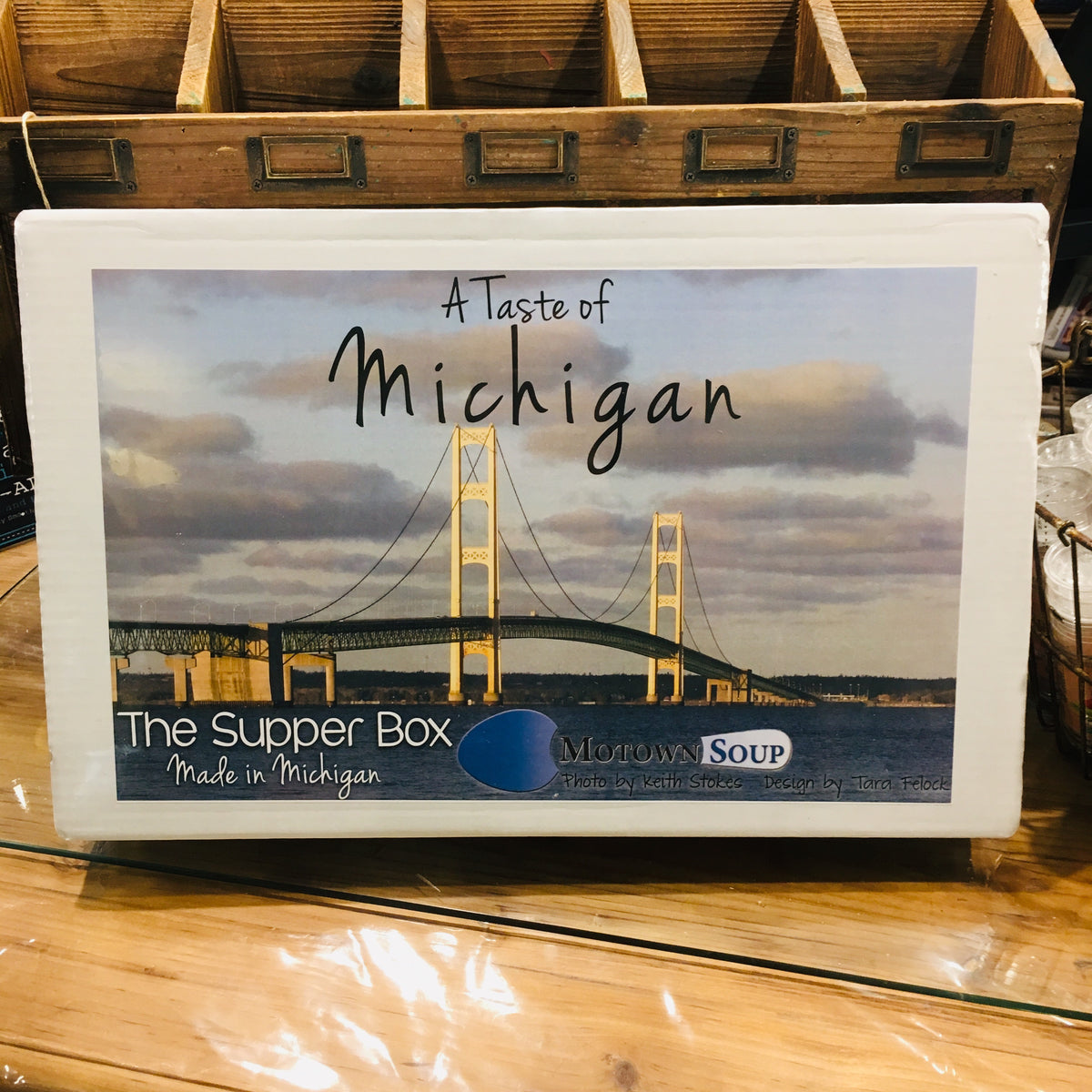 Supper Box - Mackinaw Bridge