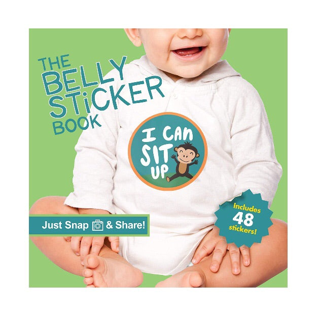The Belly Sticker Book for Babies