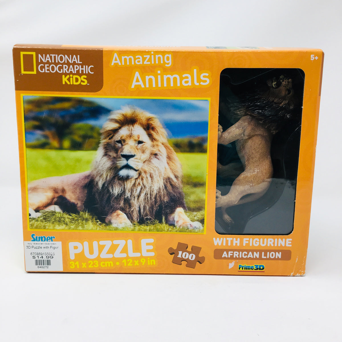 3D Puzzle w/ toy figurine