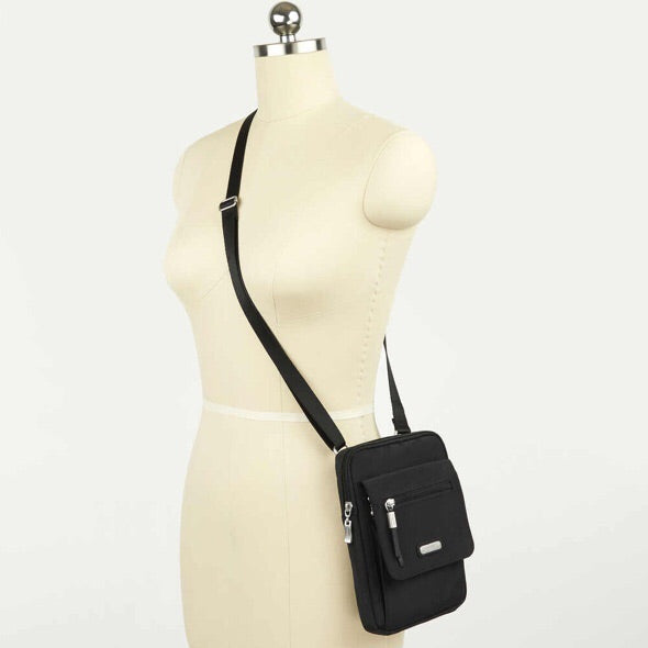 Far & Wide RFID Crossbody Bag Baggalini