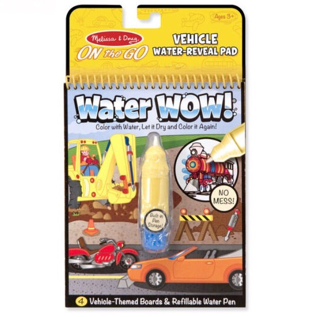 On The Go Water Wow Activity Pad