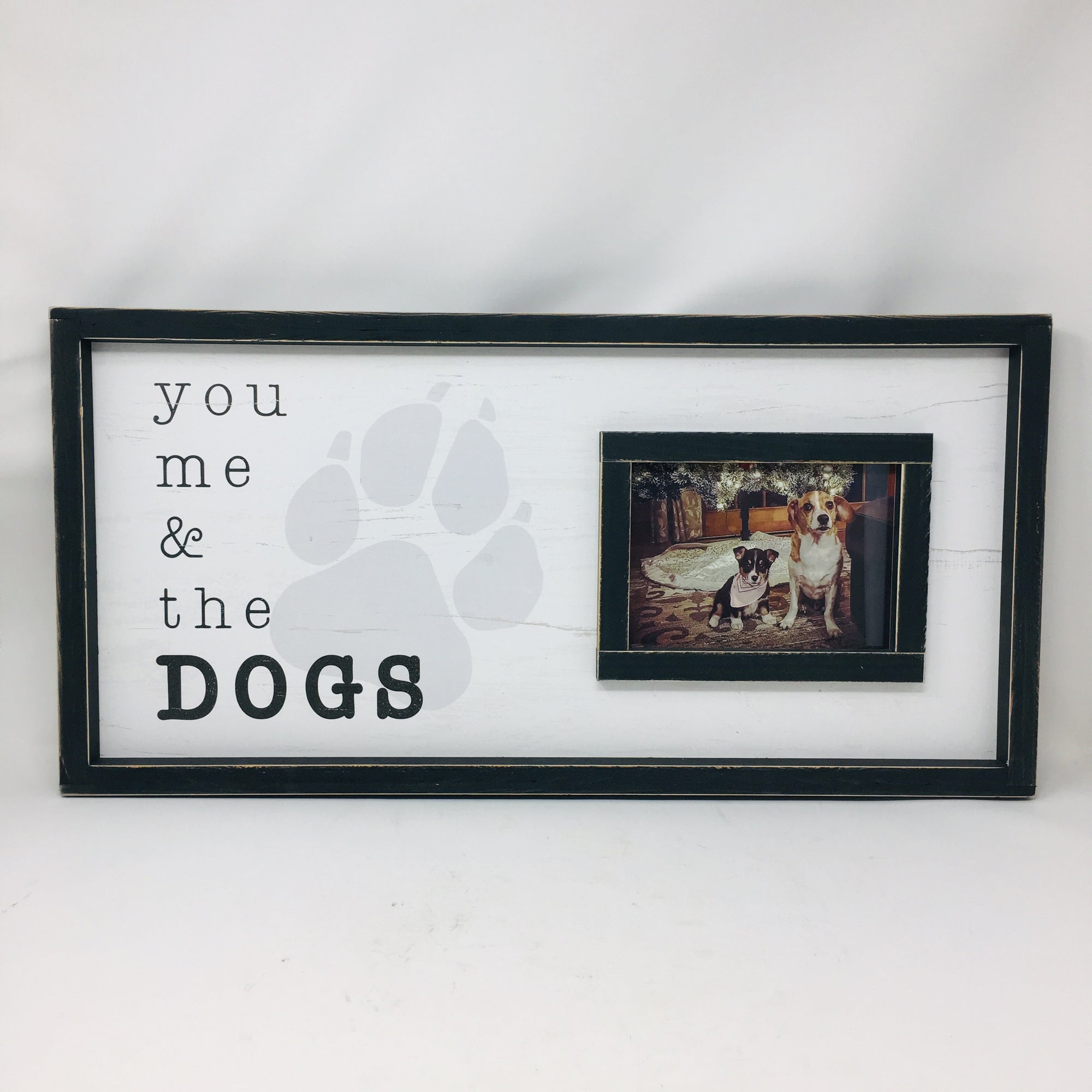 You Me & The Dogs Picture Frame