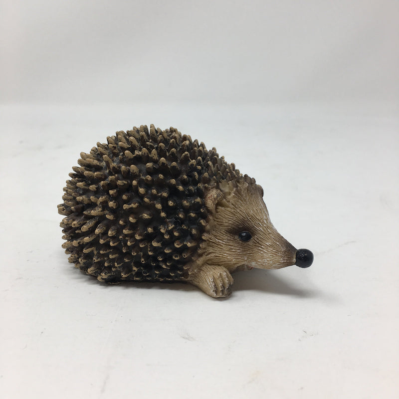 Mini Resin Hedgehog Figurine
