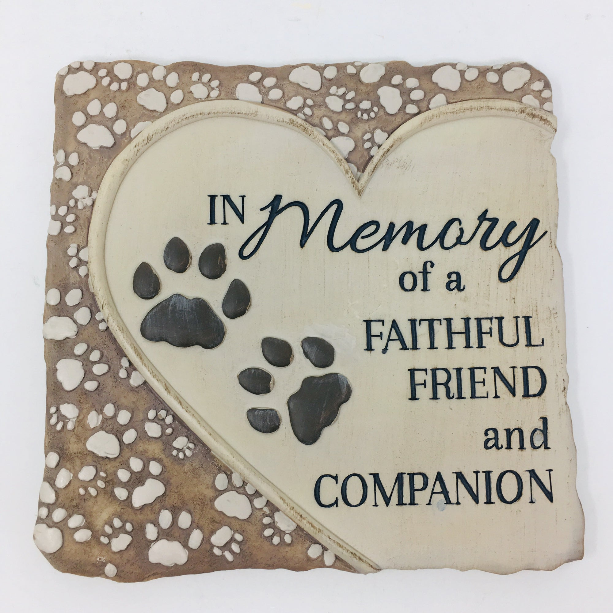 Faithful Friend and Companion Memorial Stone