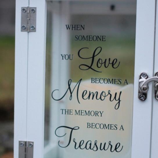 Someone you Love Memorial Lantern