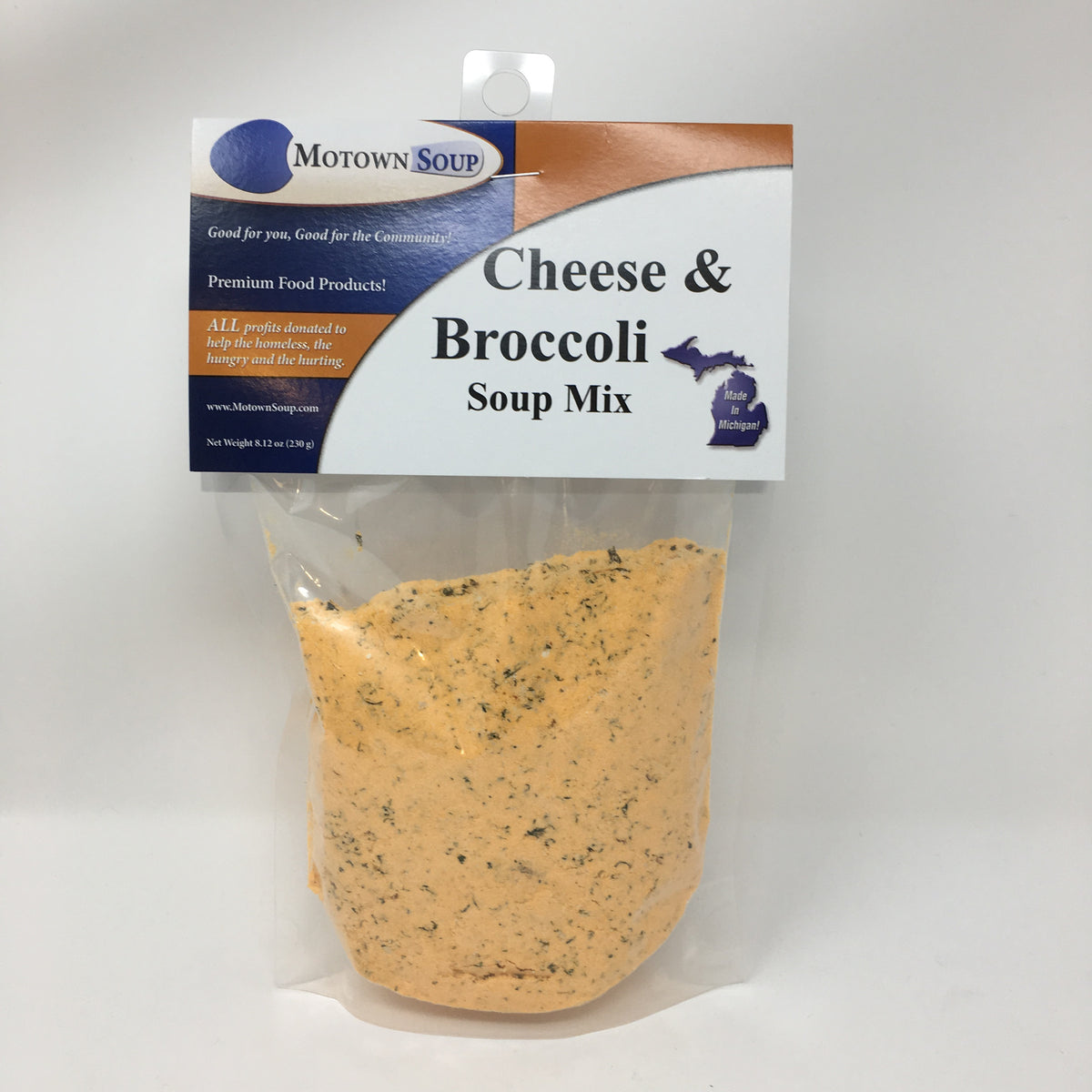 Motown Cheese & Broccoli Soup