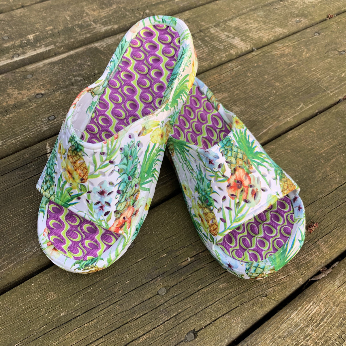 Summer Slides - women's open toed slides