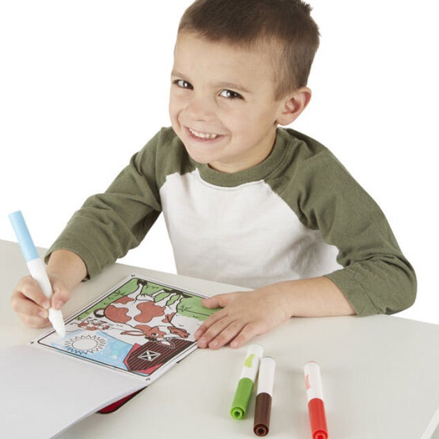 On The Go Magicolor Mess-Free Coloring Pad