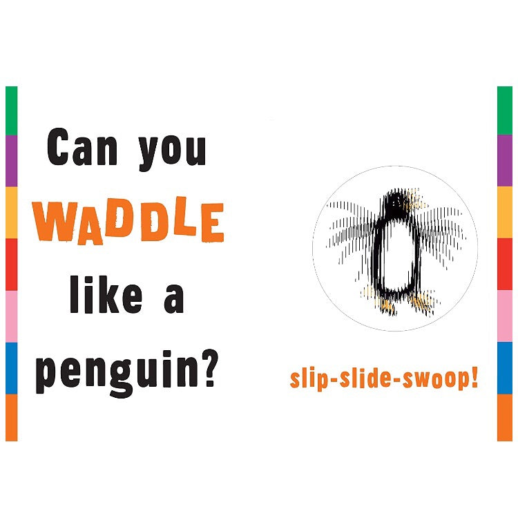 Waddle! Scanimation Picture Book
