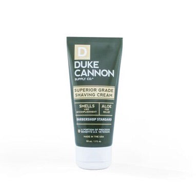 Duke Cannon Travel Size Superior Grade Shave Cream