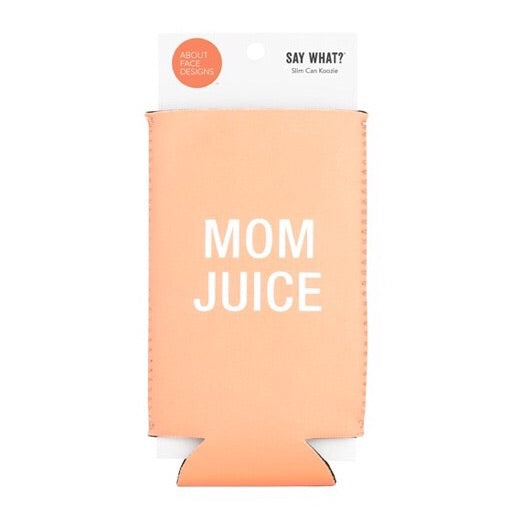 About Face Slim Drink Koozie