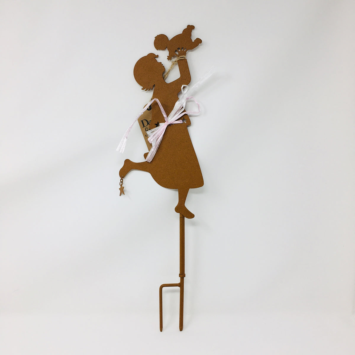 Mother & Child Garden Stake