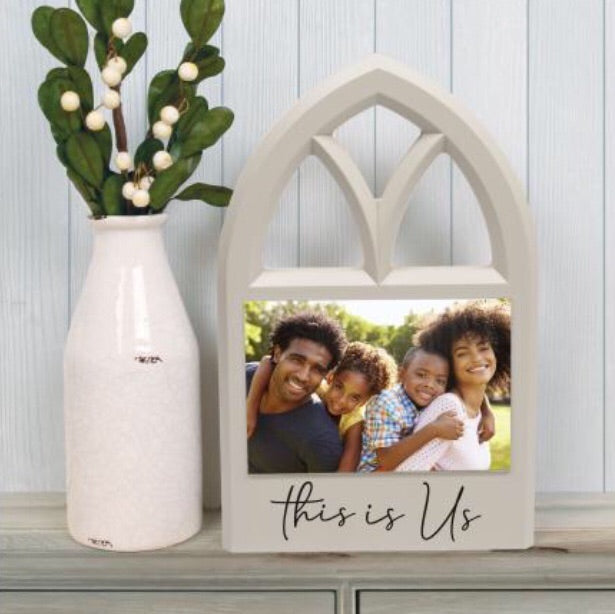 This Is Us Window Photo Frame