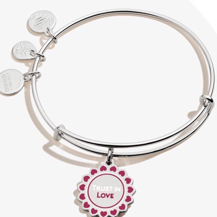 Trust In Love Charm Bangle
