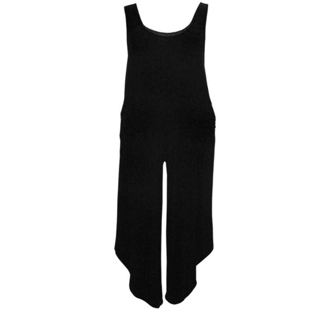Black Tank Jumper w/ Pockets