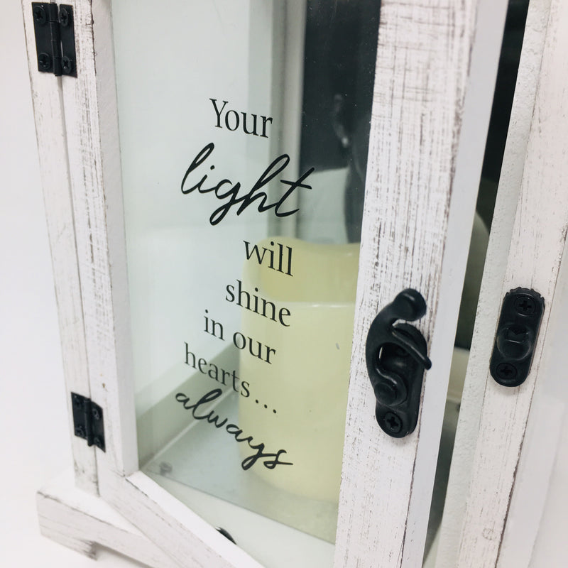 Your Light Picture Frame Lantern 13.5""
